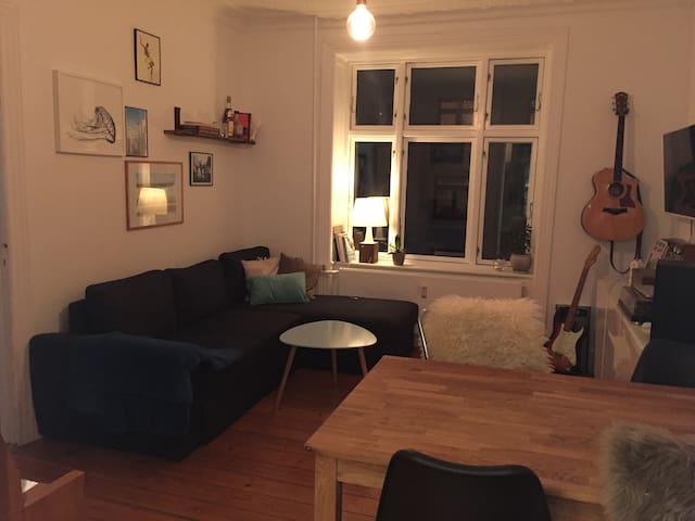 Lovely 2 room app. in Copenhagen - Copenhaguen - Pis