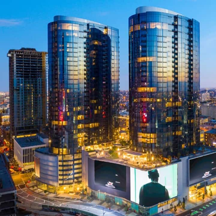 Corporate luxury Living Downtown Los Angeles