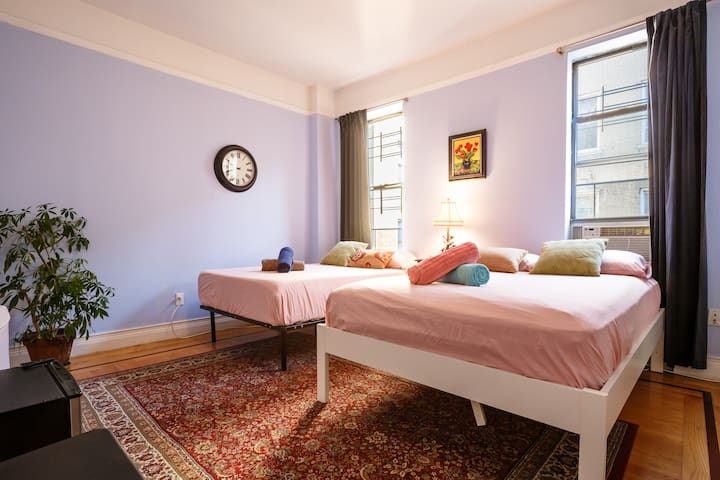 Come stay in Manhattan's luxurious Upper West Side