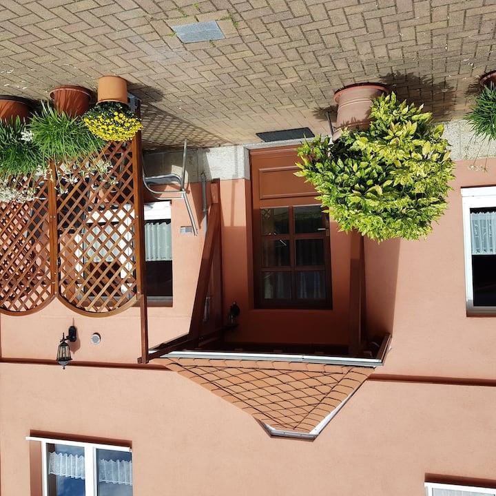 Ferienwohnung Ahrens, (Hohnstein), Ferienwohnung 2, 56qm, 2 Schlafzimmer, 1 Wohn-/Schlafzimmer, max. 4 Personen