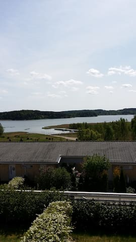 94 sqm apartment with balcony, terrace & sauna - Turku - Leilighet
