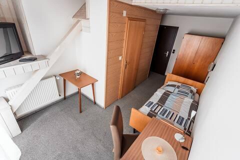 ★ Helles Einzelzimmer inkl. Bade Zi. + Balkon  ★