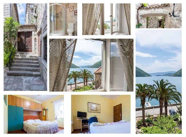 Double room with lovely sea view - by Bluemarine.