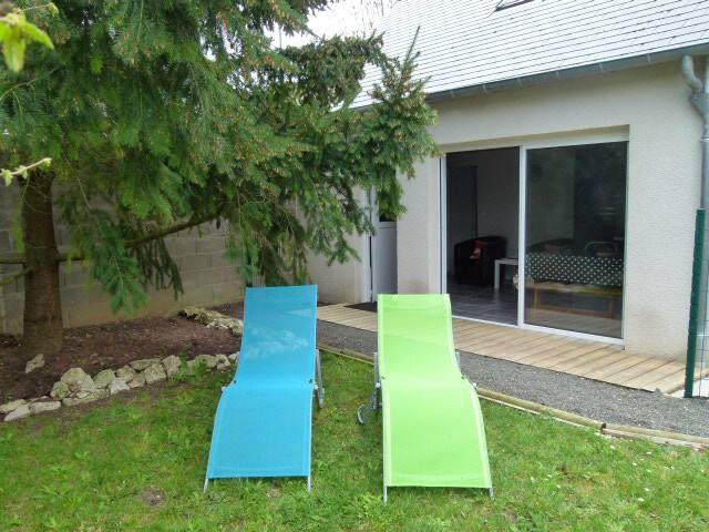 petite maison neuve avec jardin, terrasse, parking - Blois