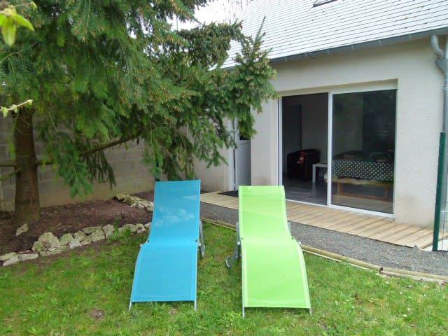 petite maison neuve avec jardin, terrasse, parking - Blois - Townhouse