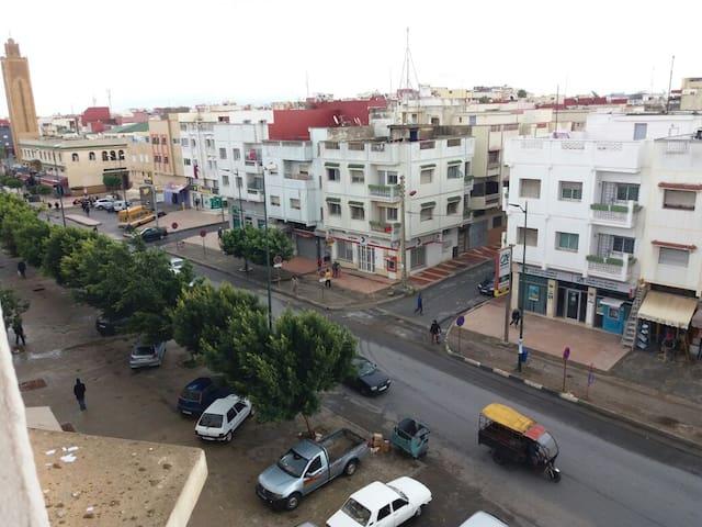 Chambre de bonne avec vue sur Rabat