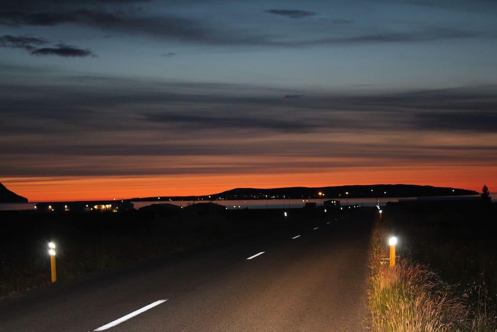 On the road to Árskógssandur