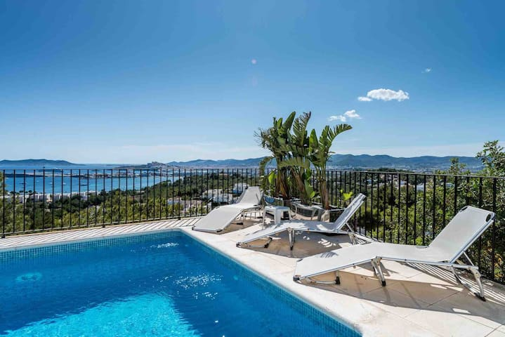 Cap Martinet 5 bedroom Sea View Villa - Can Pep Simó - Villa