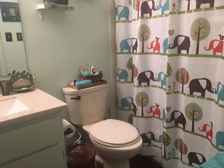 Bathroom attached to this master suite. Newly remodeled.