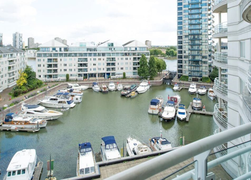 The Chelsea Harbour Residential Development and Marina