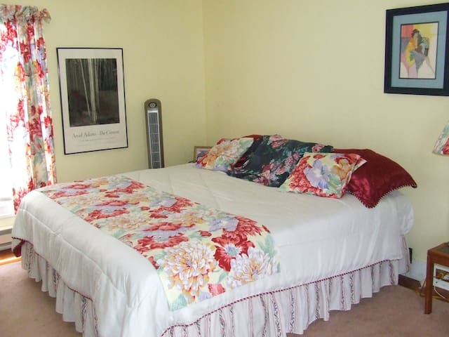 Charming King Size Bedroom for Two!