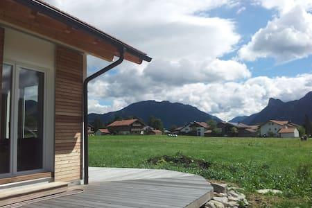 Ferienhaus in den Ammergauer Alpen - Unterammergau - Bungalow
