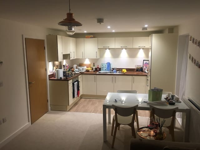 Great new flat close to stadium - Penarth  - Apartemen