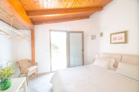 Peschici-værelse foran havet