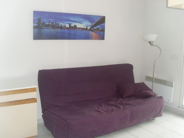 studio terrasse garage - Montpellier - Appartement en résidence