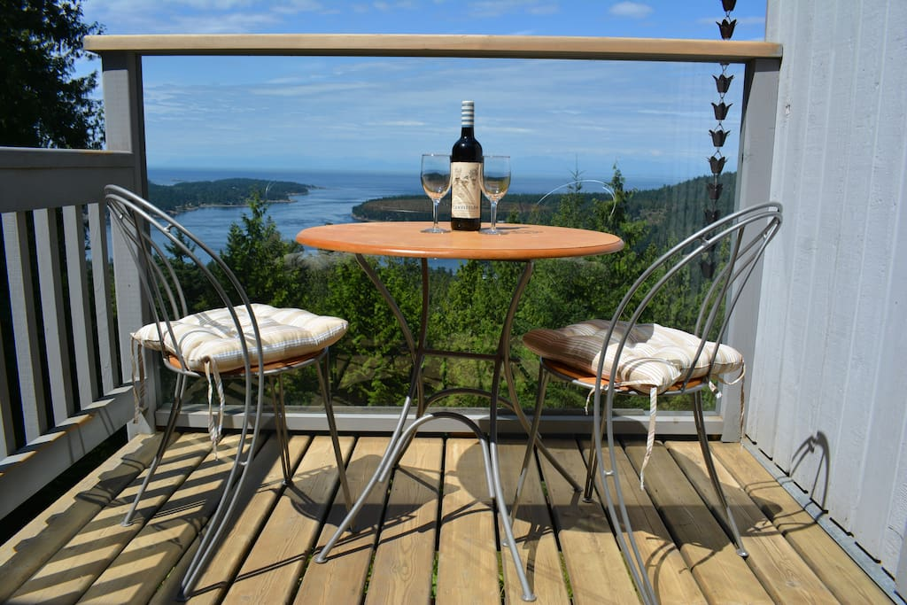 The view from your deck!  Cheers!