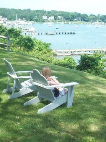 Adirondack Chairs, Dering Harbor