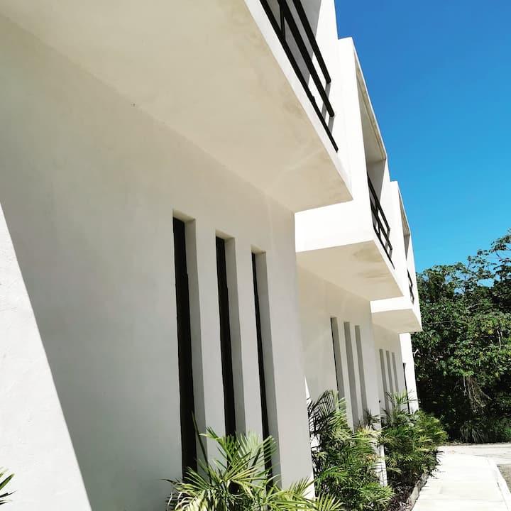 Chinchorro 1020-5 Mahahual habitación con balcón