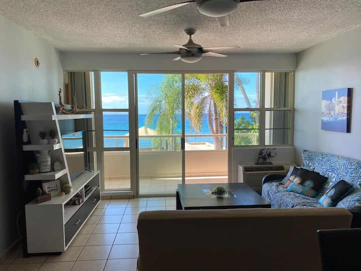 Beautiful Rincón Beach Front Apartment