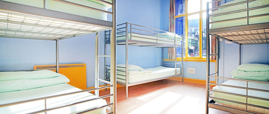 Cowgate Hostel - Bed in an 8 Bed Dorm