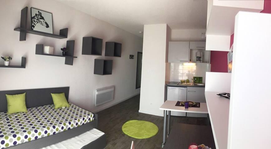 Agréable studio neuf 2 - Aix-en-Provence - Condominio