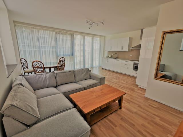 Luxe en grote appartement 2H