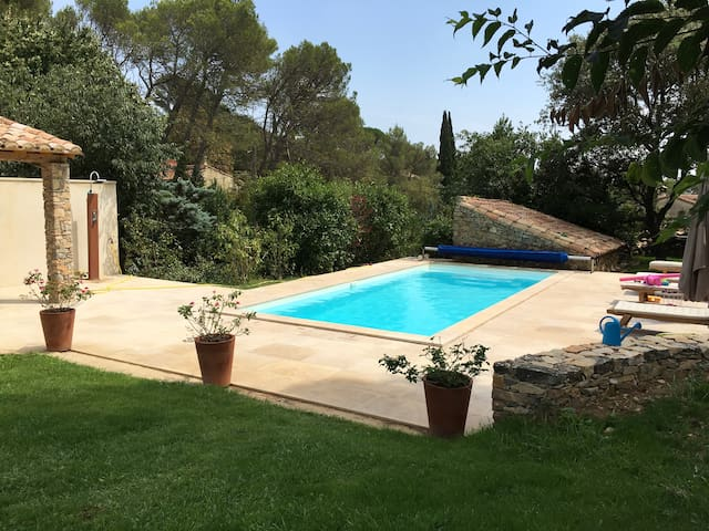 Small Provencal country cottage, in Nimes - Nîmes - Huis