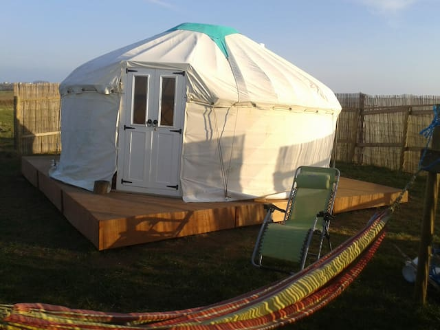 West kellow yurts in polperro