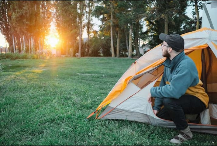 RV or Tent Camping on the Farmstead