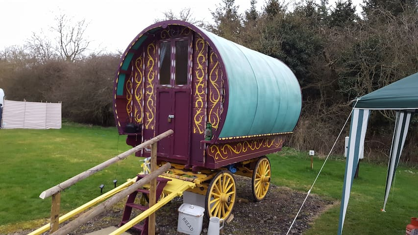 Romany Gypsy Wagon - Worcestershire - เต็นท์