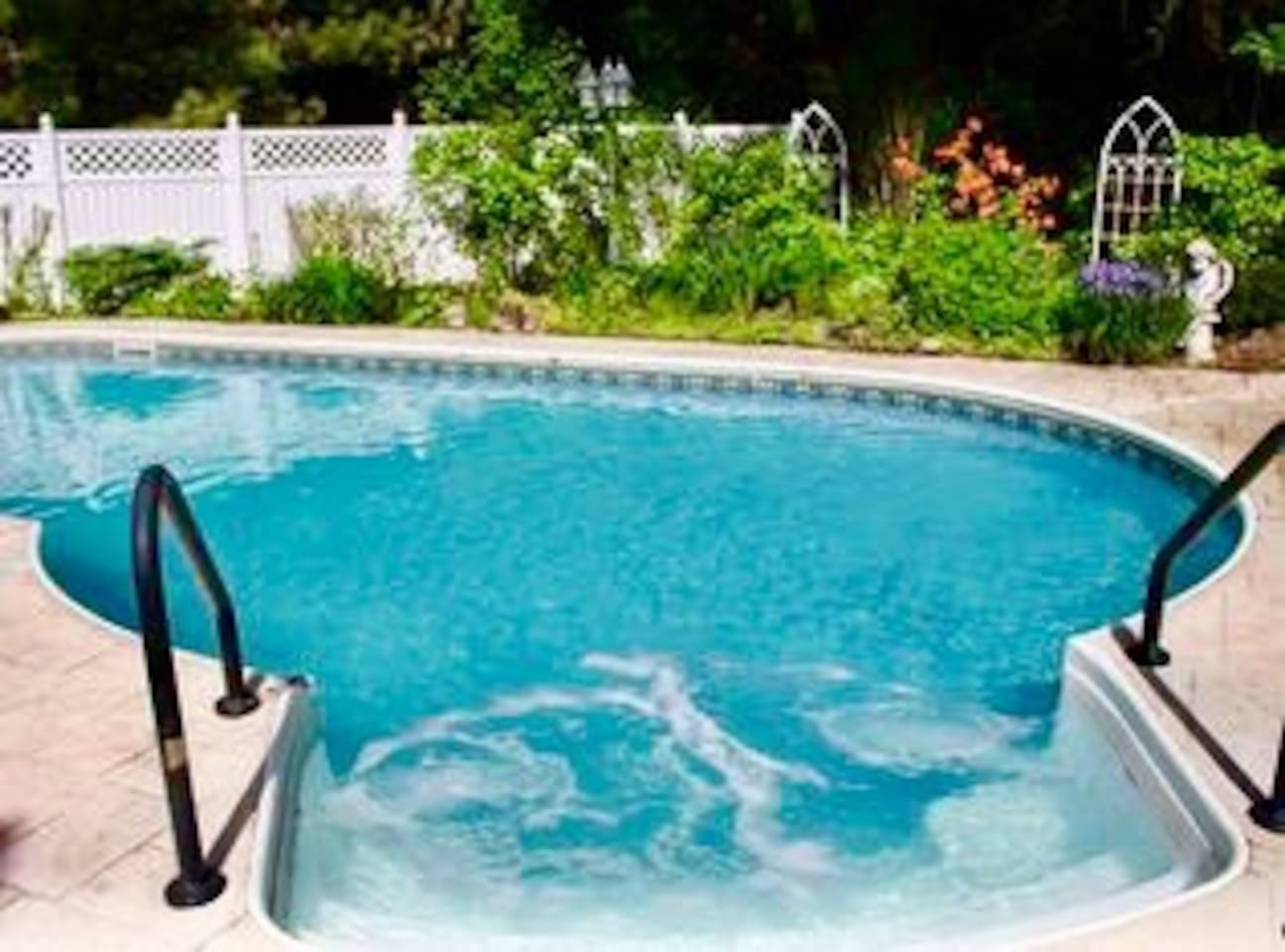 Heated in ground pool