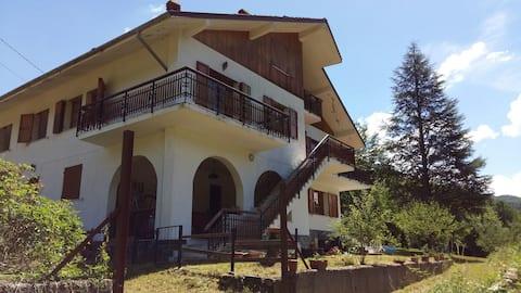 Casa Candellero in Val Trebbia