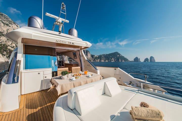 Capasecca Yacht di Lusso Aicon 72