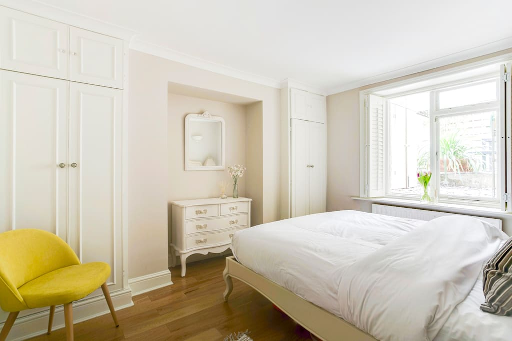 My stylish property has everything you need - a chic double bedroom...