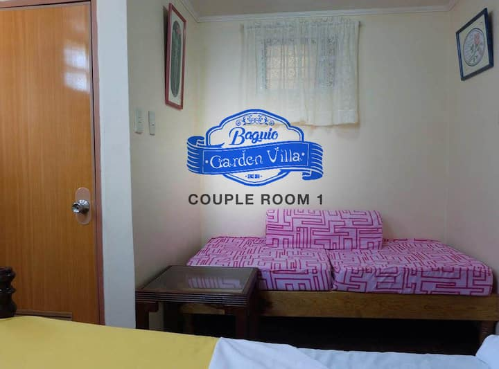 Baguio Studio unit for couples (3 people max)
