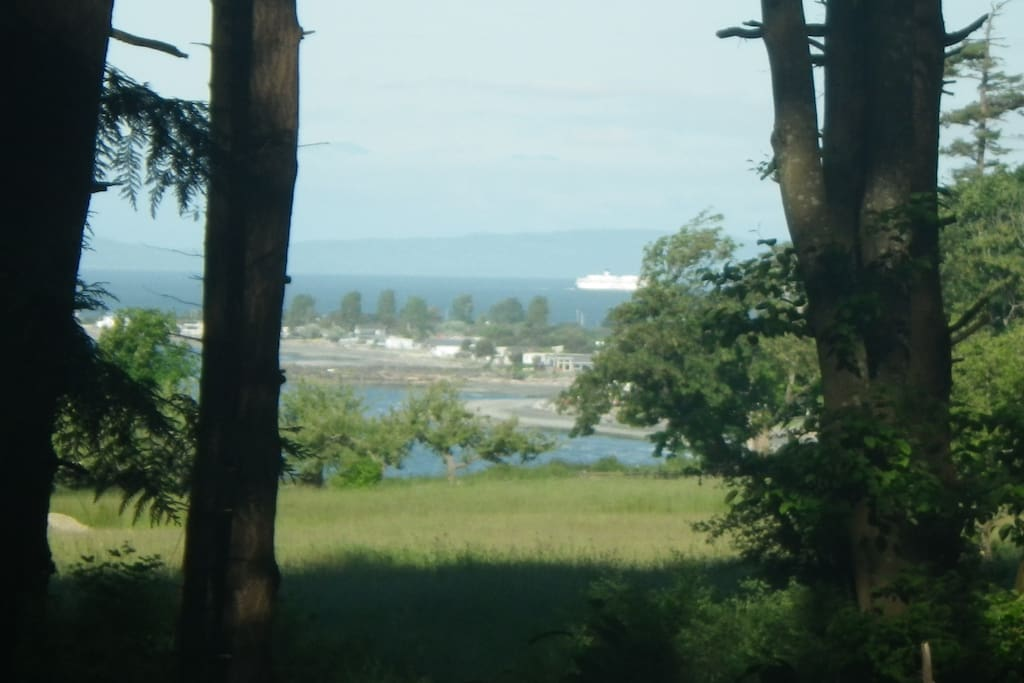 Bay view with Tsawwassen Ferry