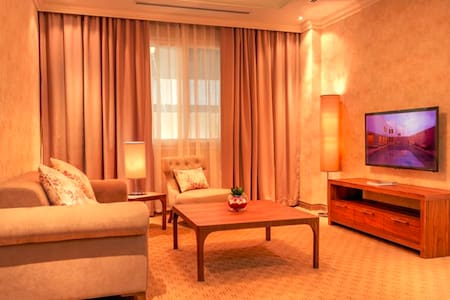 Cozy Fully Furnished 1BR Apartment in Al Sadd - Doha - Departamento