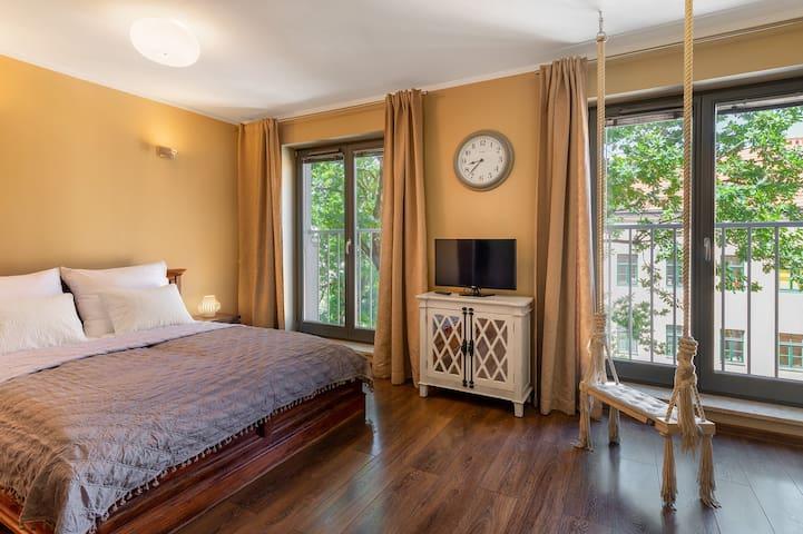 Apartment am Fluss im Zentrum von Krakau-Podgorze
