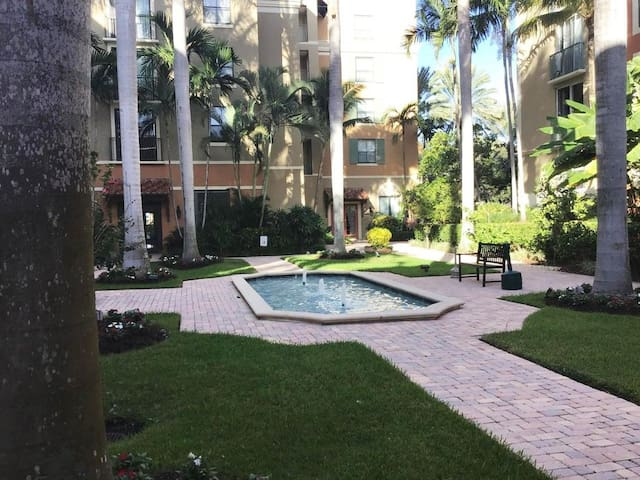Courtyards in CityPlace, West Palm Beach!