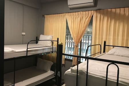 Small room can stay 4 persons