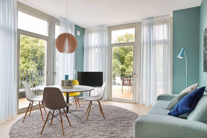 3-Zimmer Design-Penthouse auf der Insel Eiswerder