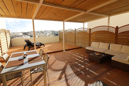 Duplex Roof Terrace Apartment  - Birżebbuġa - Wohnung