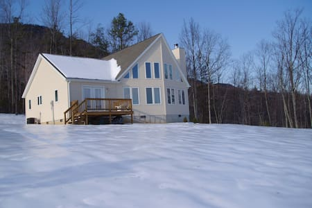 Mountain Chalet 14 miles from VMI - Hus