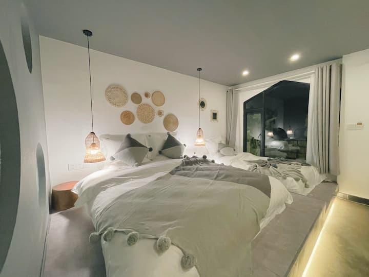 榻榻米亲子双床(双人床+单人床)