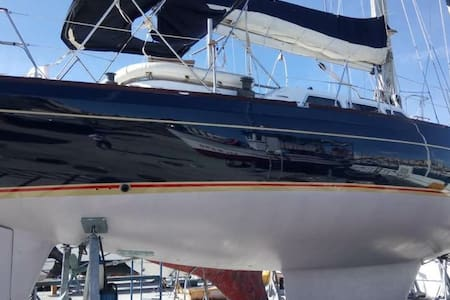 Northwind 47 sailing yacht conveniently located walking distance to Gibraltar - Cadice - Barca