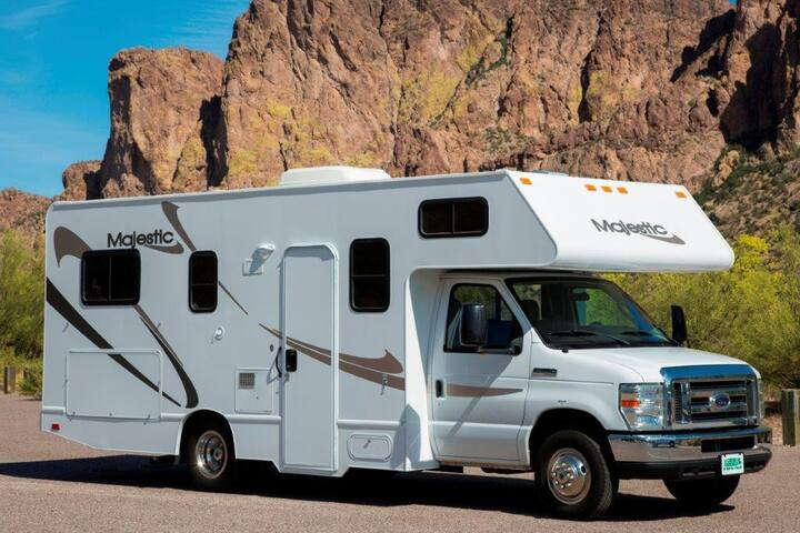 RV stay in Bay Area. Fun and affordable!
