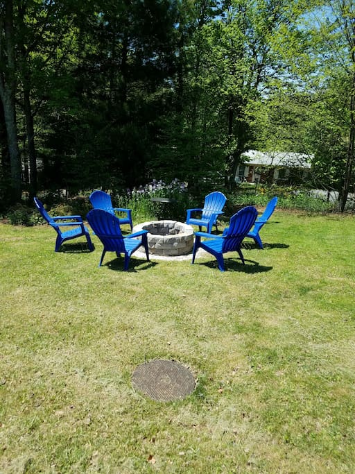 Fire pit - available for use upon request