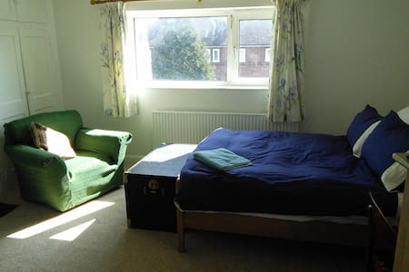 Large, light double room