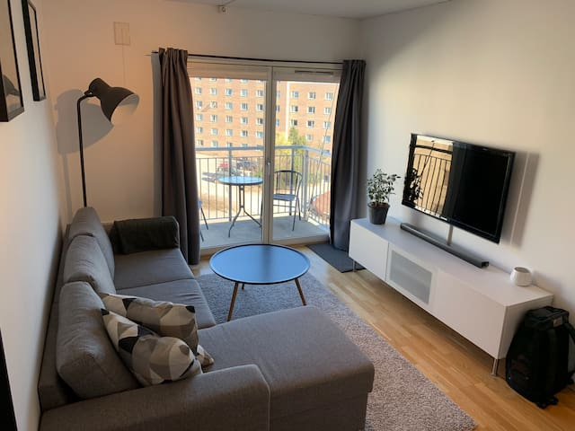 Cozy and modern top floor apartment