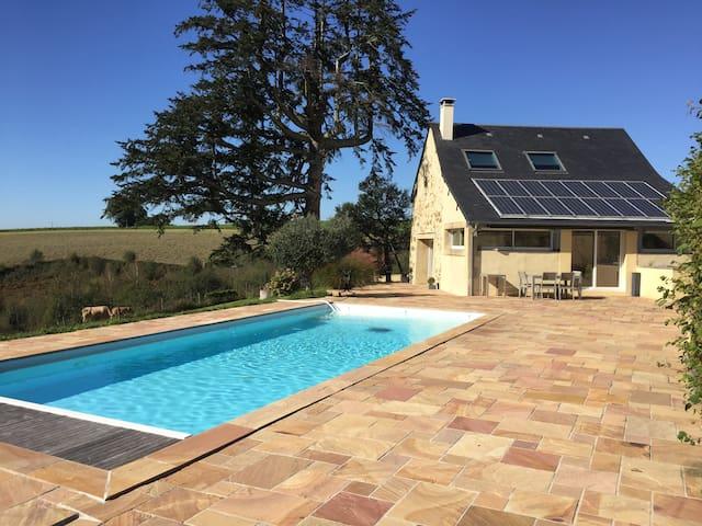 Maison Héran avec piscine